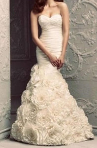 Paloma Blanca 'Trumpet' - Paloma Blanca - Nearly Newlywed Bridal Boutique - 3