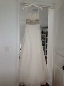 Monique Lhuillier 'Bliss' 0902 Wedding Dress - Monique Lhuillier - Nearly Newlywed Bridal Boutique - 3