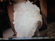 Load image into Gallery viewer, Rosa Clara A-line Tiered Strapless Gown - Rosa Clara - Nearly Newlywed Bridal Boutique - 3