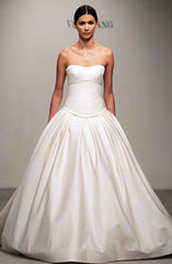 Vera Wang 'Pinstriped Ball Gown from Lavender Collection' - Vera Wang - Nearly Newlywed Bridal Boutique - 1