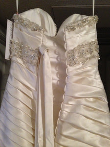 Mori Lee Madeline Gardner Strapless Wedding Dress - Mori Lee - Nearly Newlywed Bridal Boutique - 2