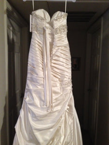 Mori Lee Madeline Gardner Strapless Wedding Dress - Mori Lee - Nearly Newlywed Bridal Boutique - 4