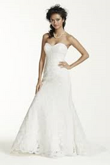 Oleg Cassini 'Sweetheart' - Oleg Cassini - Nearly Newlywed Bridal Boutique - 5