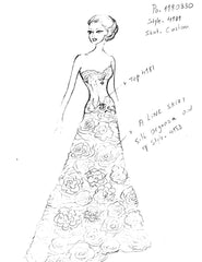 Pnina Tornai Fully Custom Wedding Dress - Pnina Tornai - Nearly Newlywed Bridal Boutique - 5