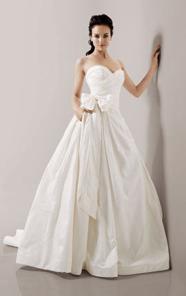 Priscilla of Boston 'Maeve' Strapless Ball Gown - Priscilla of Boston - Nearly Newlywed Bridal Boutique - 1