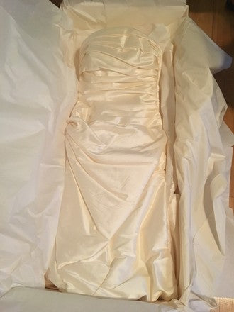 Pronovias 'Semilla' size 2 used wedding dress in box