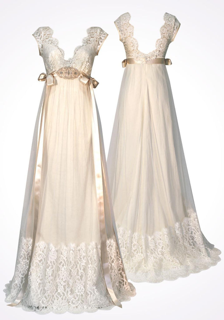 Claire Pettibone 'Queen Anne's Lace' - Claire Pettibone - Nearly Newlywed Bridal Boutique - 5