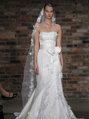 Melissa Sweet Mira Wedding Dress - Melissa Sweet - Nearly Newlywed Bridal Boutique - 1