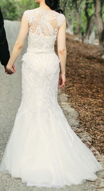 Monique Lhuillier 'Luella' - Monique Lhuillier - Nearly Newlywed Bridal Boutique - 2