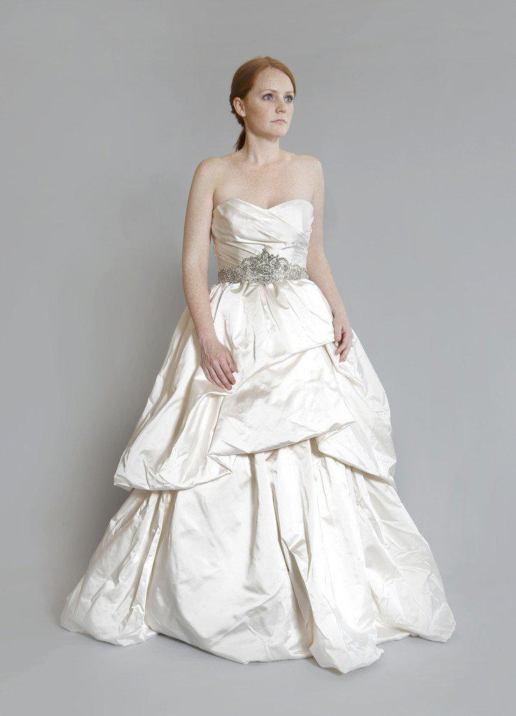 Kenneth Pool 'Royalty' Silk Satin Gown - Kenneth Pool - Nearly Newlywed Bridal Boutique - 1