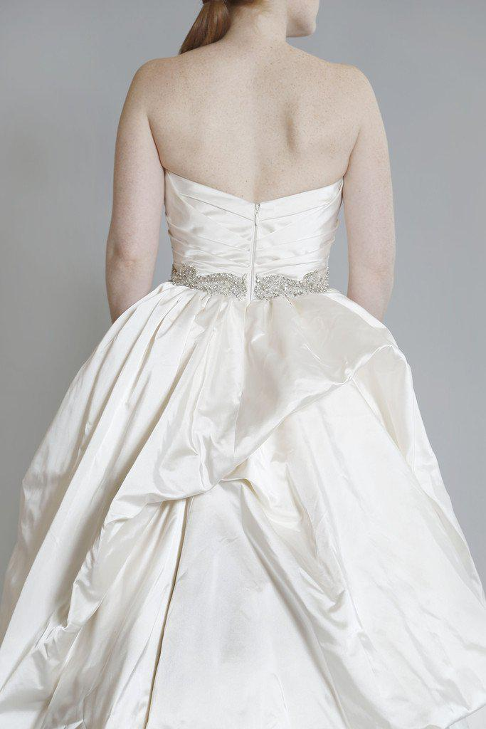 Kenneth Pool 'Royalty' Silk Satin Gown - Kenneth Pool - Nearly Newlywed Bridal Boutique - 2