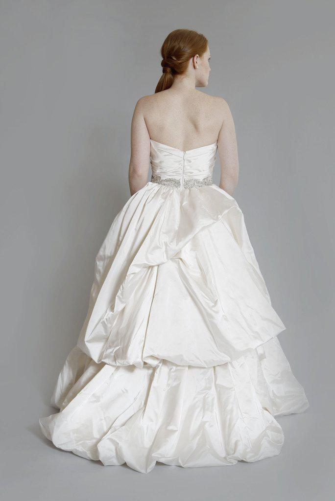 Kenneth Pool 'Royalty' Silk Satin Gown - Kenneth Pool - Nearly Newlywed Bridal Boutique - 3
