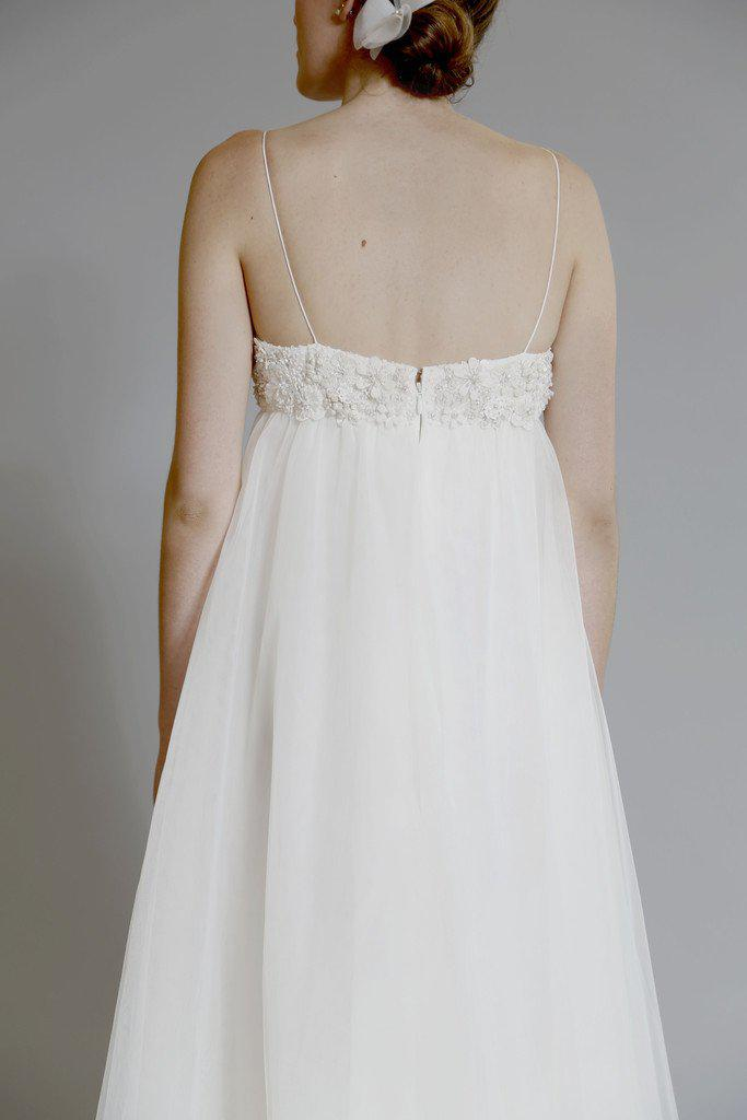 Amsale 'Juliette' Ivory Tulle Gown - Amsale - Nearly Newlywed Bridal Boutique - 2