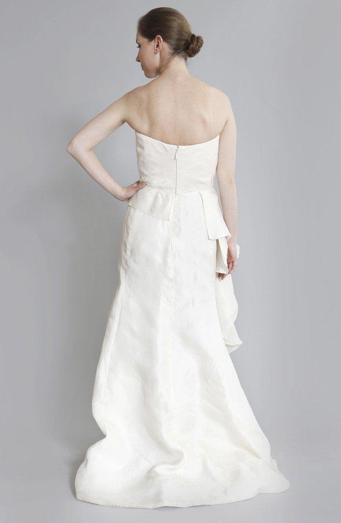Angel Sanchez 'Adrianna' Silk Organza Gown - Angel Sanchez - Nearly Newlywed Bridal Boutique - 2