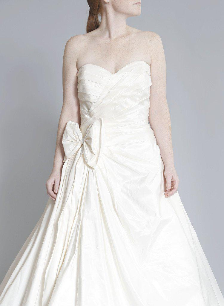 Priscilla of Boston 'Maeve' Strapless Ball Gown - Priscilla of Boston - Nearly Newlywed Bridal Boutique - 4