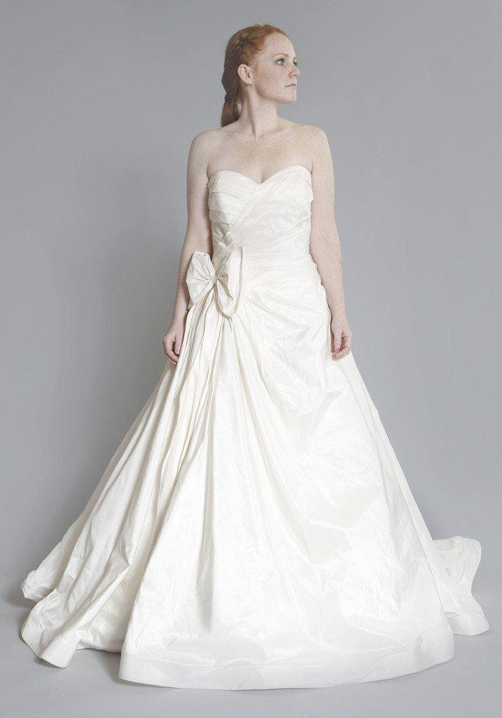 Priscilla of Boston 'Maeve' Strapless Ball Gown - Priscilla of Boston - Nearly Newlywed Bridal Boutique - 3