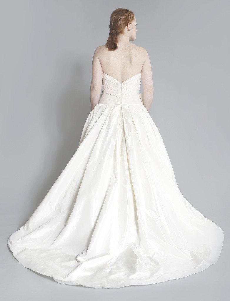 Priscilla of Boston 'Maeve' Strapless Ball Gown - Priscilla of Boston - Nearly Newlywed Bridal Boutique - 5