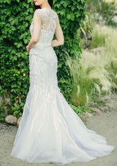 Monique Lhuillier 'Luella' - Monique Lhuillier - Nearly Newlywed Bridal Boutique - 3