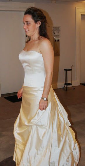 Priscilla of Boston Style 3013-MSATIN - Priscilla of Boston - Nearly Newlywed Bridal Boutique - 1