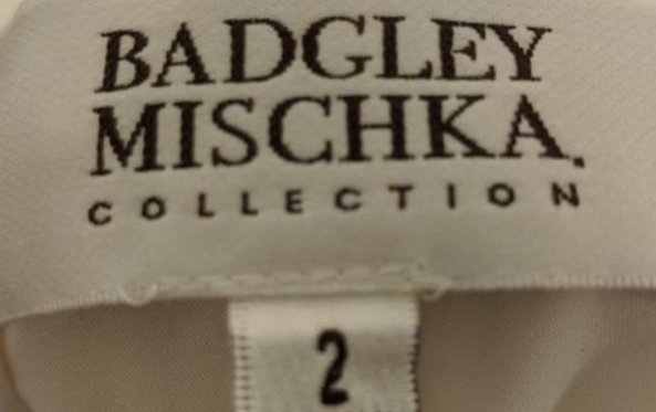 Badgley Mischka 'Sheath'