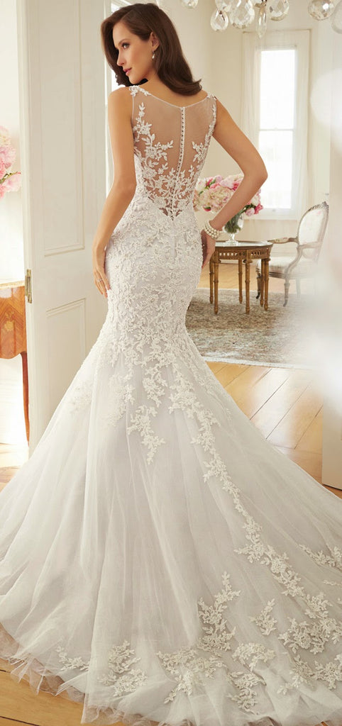 Sophia Tolli 'Y11572 Calandra' - sophia tolli - Nearly Newlywed Bridal Boutique - 5