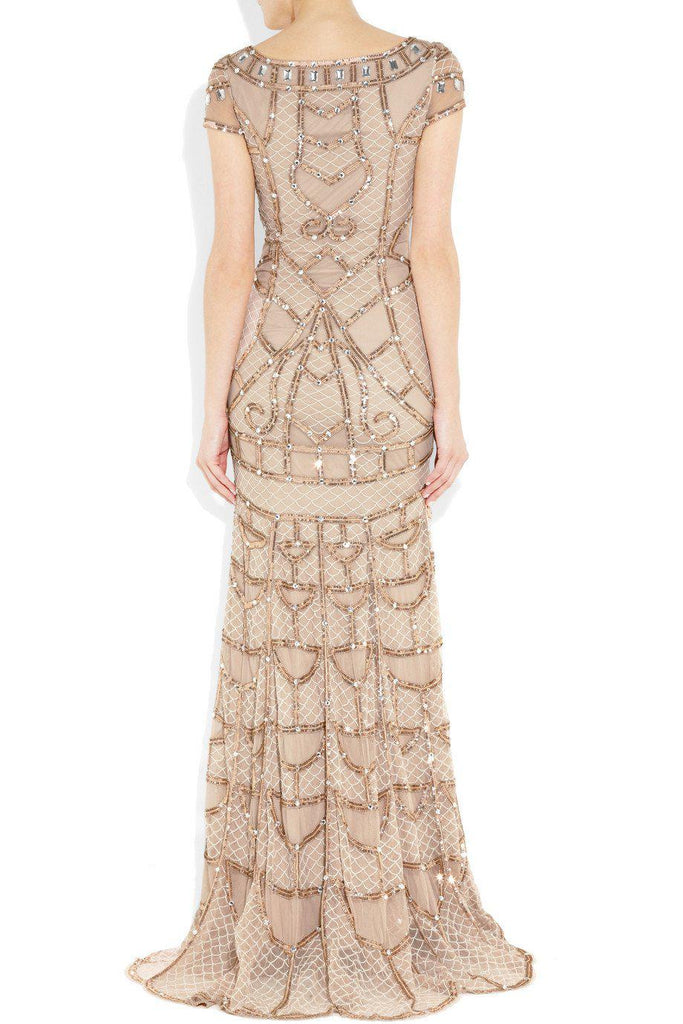 Temperley London Pale Pink Poison Embellished Tulle Gown - Temperley London - Nearly Newlywed Bridal Boutique - 2