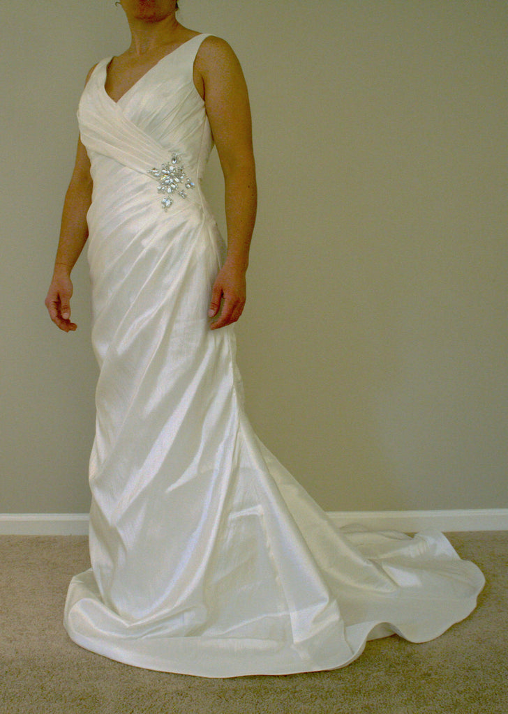 Mori Lee style #6727 - Mori Lee - Nearly Newlywed Bridal Boutique - 1