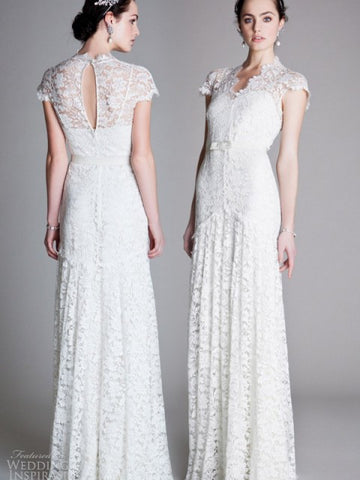 Temperley London Sleeved Amoret Wedding Gown