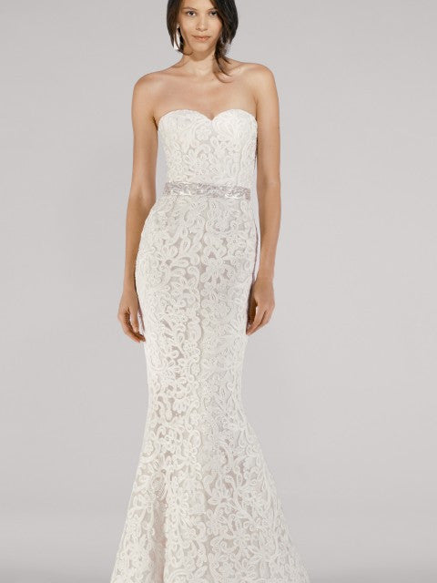 Oscar de la Renta 33E Collection Gown - Oscar de la Renta - Nearly Newlywed Bridal Boutique - 7