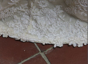Custom 'Lace and satin' - Customed Designed - Nearly Newlywed Bridal Boutique - 6