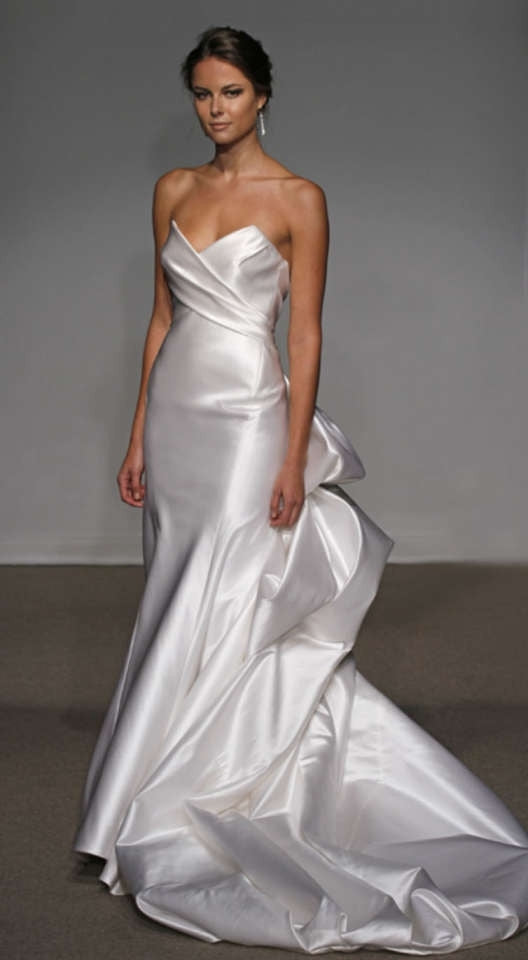 Ulla Maija 'Felicite' Satin Gown - Ulla Maija - Nearly Newlywed Bridal Boutique - 1