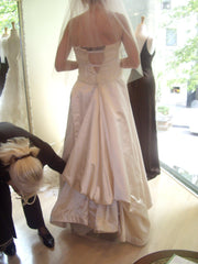 Peter Langner customized 'Dolem' Wedding Dress - Peter Langner - Nearly Newlywed Bridal Boutique - 2