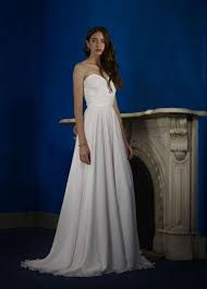 Robert Bullock 'Varro' size 0 new wedding dress front view on model