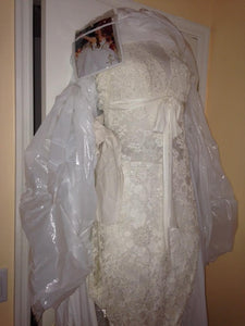 Pnina Tornai 'Lace Wedding Gown' - Pnina Tornai - Nearly Newlywed Bridal Boutique - 2