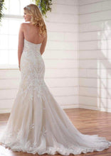 Load image into Gallery viewer, Essence of Australia 'D2267' size 14 new wedding dress back view on model