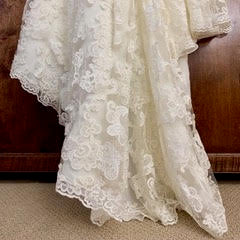 Enzoani 'Casablanca' size 6 new wedding dress view of hemline