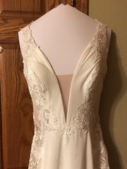Sottero and Midgley 'Bradford' size 8 new wedding dress front view on hanger