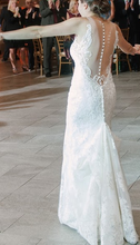 Load image into Gallery viewer, Allure '9363' size 2 used wedding dress back view on bride