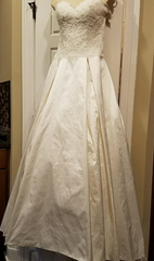 Simply Classic 'Lace and Silk' - Simply classic - Nearly Newlywed Bridal Boutique - 7