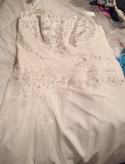 David's Bridal 'Ivory' - David's Bridal - Nearly Newlywed Bridal Boutique - 6