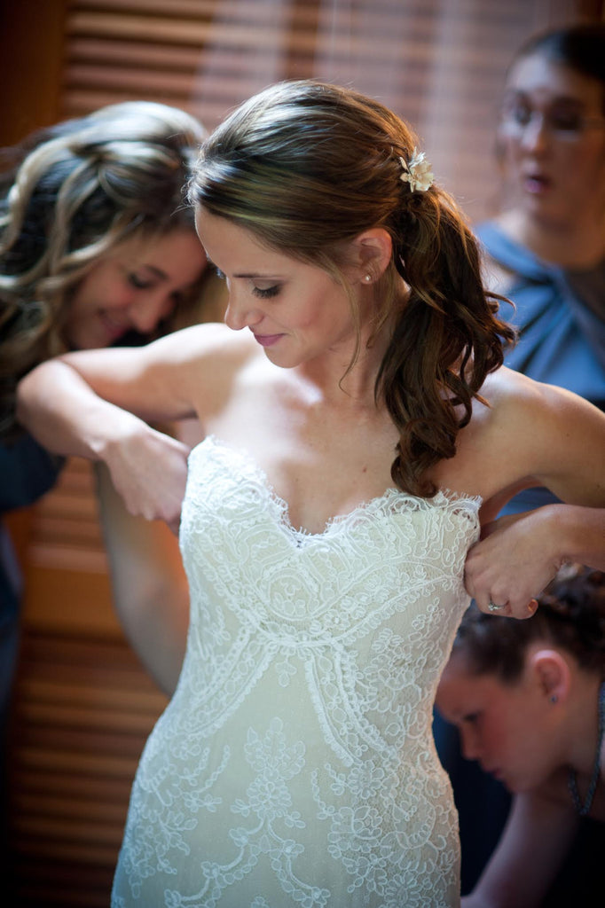 Custom 'Lace' - unknown - Nearly Newlywed Bridal Boutique - 4
