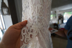 Chic Nostalgia 'Lennox' size 8 used wedding dress view of fabric