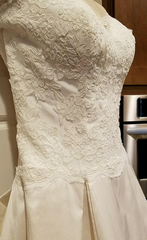 Simply Classic 'Lace and Silk' - Simply classic - Nearly Newlywed Bridal Boutique - 6