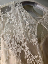 Load image into Gallery viewer, Elie Saab 'Birgit' size 6 used wedding dress view of fabric