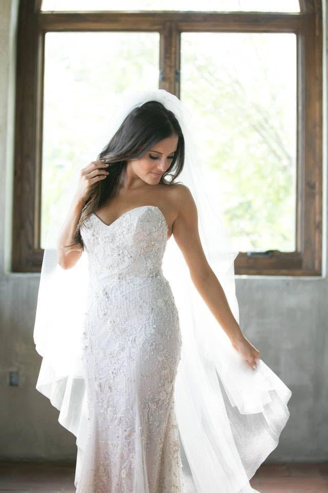 Lazaro 'Beaded Dress' - Lazaro - Nearly Newlywed Bridal Boutique - 5