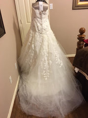 JLM Couture Alvina Valenta Floral & Tulle Wedding Dress - Alvina Valenta - Nearly Newlywed Bridal Boutique - 3
