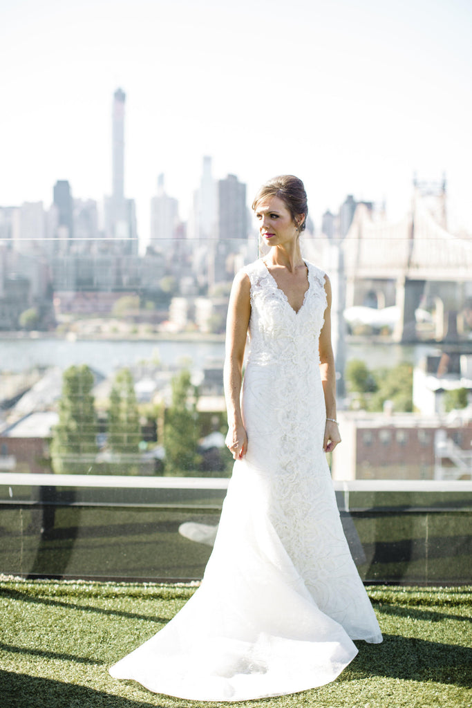 Carolina Herrera 'Audrey' - Carolina Herrera - Nearly Newlywed Bridal Boutique - 5