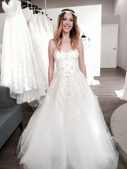Monique Lhuiller 'Creme Brulee' - Monique Lhuillier - Nearly Newlywed Bridal Boutique - 2
