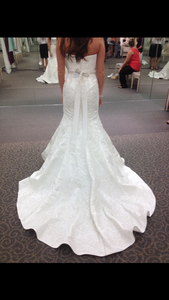 Oleg Cassini 'Petite Strapless' - Oleg Cassini - Nearly Newlywed Bridal Boutique - 2