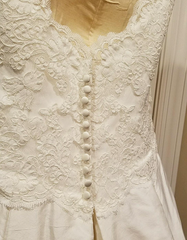 Simply Classic 'Lace and Silk' - Simply classic - Nearly Newlywed Bridal Boutique - 5